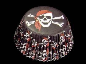 Caissettes à cupcakes Pirate gm