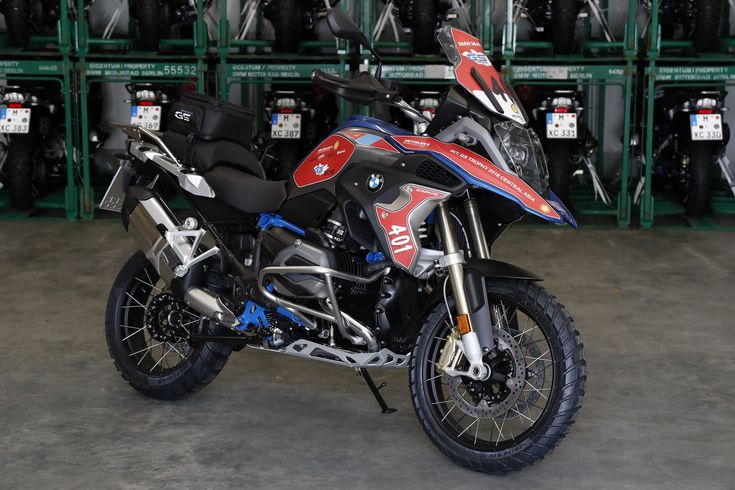 Preparation of 114 BMW R 1200 GS Rallye motorcycles for the ultimate adventure!