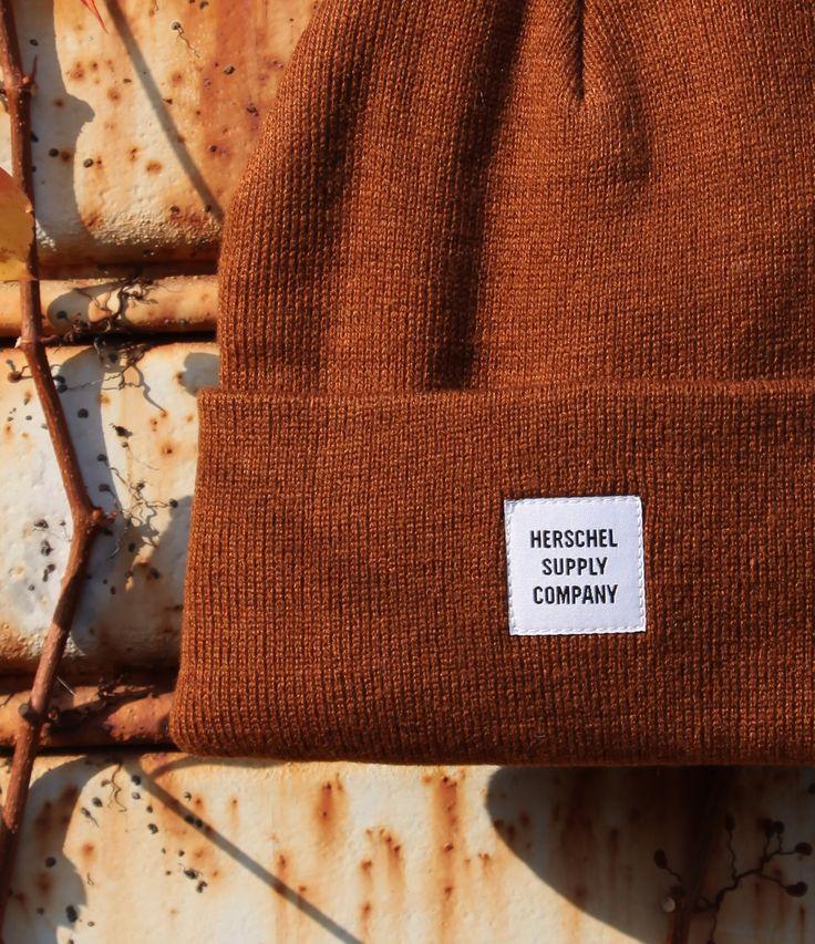 Berretta in lana color tabacco by Herschel