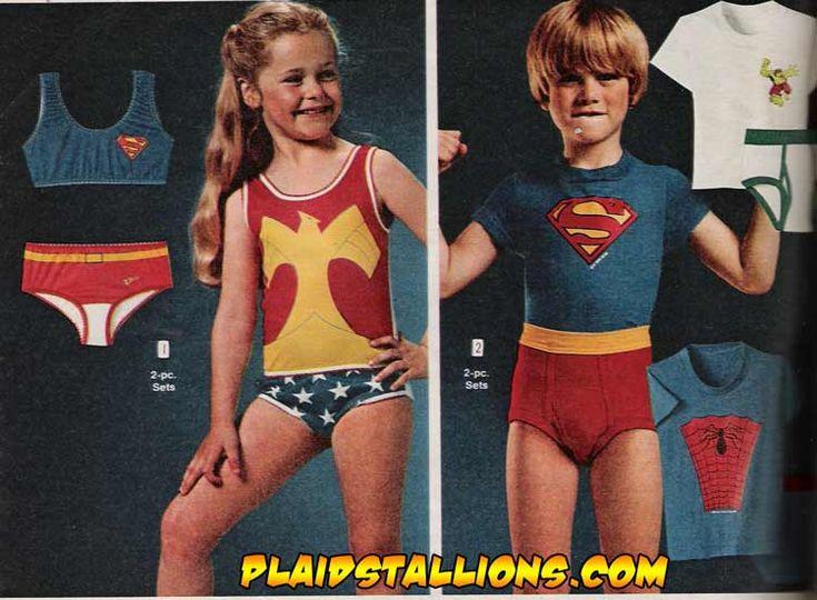 Underwear that's fun to wear: 80S, Wonder Women, Childhood Memories, Women Underoo, Things, Kids, Wonder Woman, Super Girls, 80 S