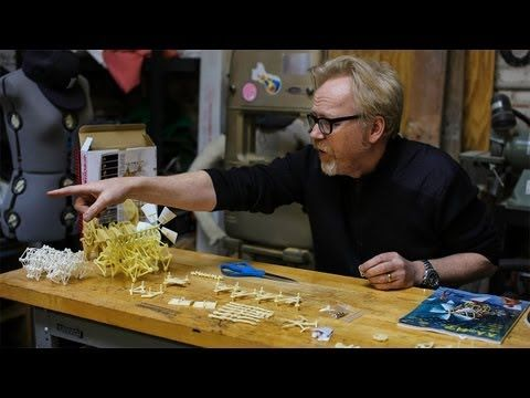 Adam Savage's One Day Builds: Strandbeest Model Kit. Strandbeest is powered by wind.