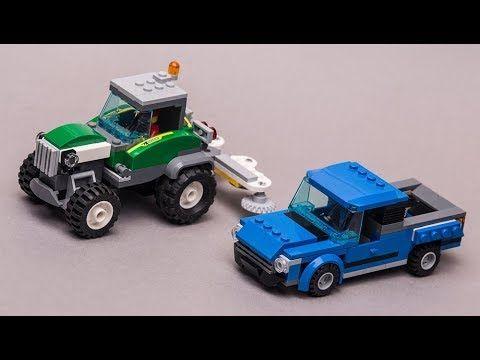 Lego City 60223 Alternative Build Tractor Pickup Youtube Lego