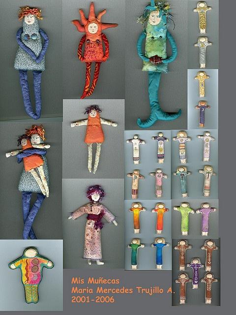 mis muñecasBy MagaMerlina☆Cloth dolls