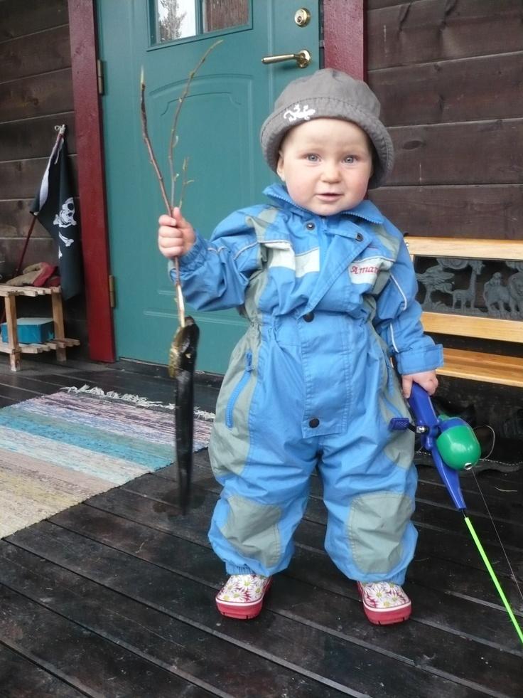 Fiskelycka #Vilhelmina #Lappland #Sweden