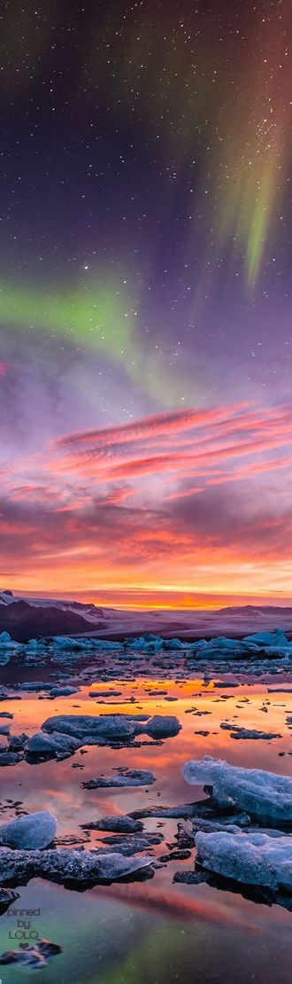 Northern Lights Over Iceland | LOLO❤︎