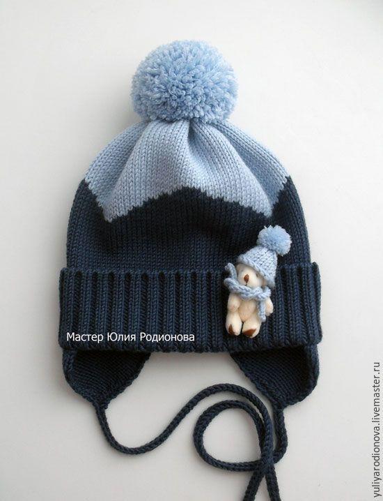 Шапки и шарфы ручной работы. Ярмарка Мастеров - ручная работа. Купить Мериносовая шапочка для малыша. Handmade. Головные уборы, италия