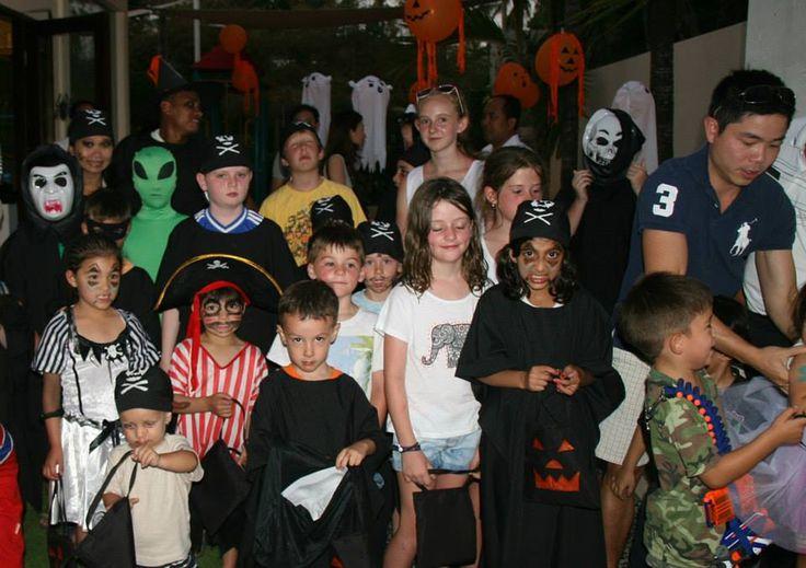 It was an evening of spooky fun for children at The Westin Resort Nusa Dua, Bali. #westinbali