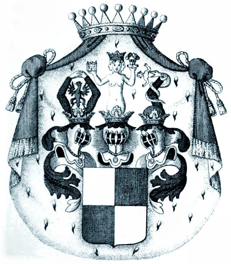Wappen der Fürsten von Collalto und San Salvatore 1822