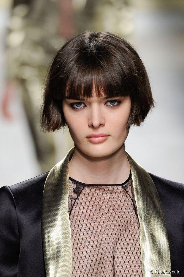 100 best coiffure images on pinterest fringes short - Carre court frange ...