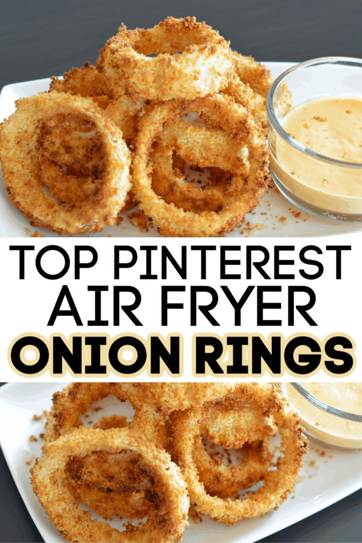 If you're looking for the best air fryer onion rings