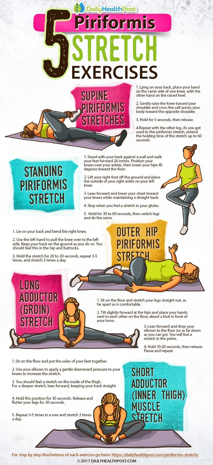 piriformis stretch to help with sciatic nerve pain