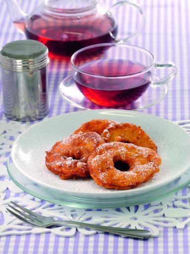 Recette de Beignets aux pommes sans gluten