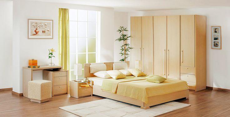 Спальный гарнитур с туалетным столиком | Дизайн интерьера современной спальни  #астрон #мебель #astron #спальни
