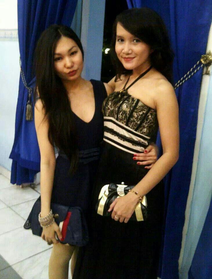 Blackdress #lace#velvet bias#