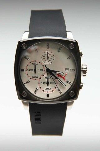 Puma Shade Watch L Silver/Grey