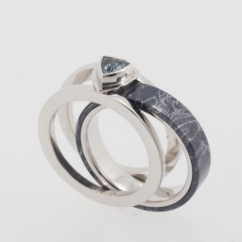 meteorite wedding ring cool concept 18 on ring design ideas