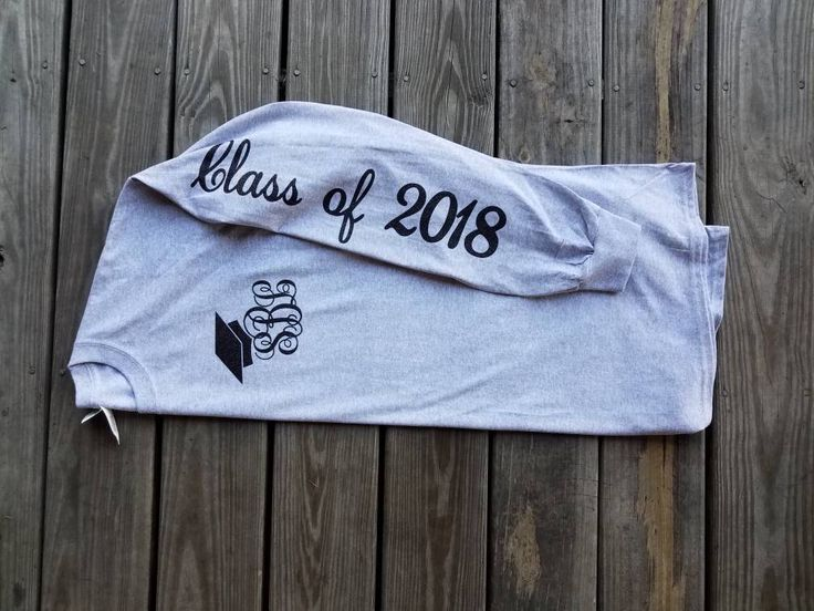 Monogrammed senior shirt / class of 2018  / senior shirt / high school graduation / college graduation / personalized graduation by BetsysBoutiqueKY on Etsy https://www.etsy.com/listing/493219690/monogrammed-senior-shirt-class-of-2018