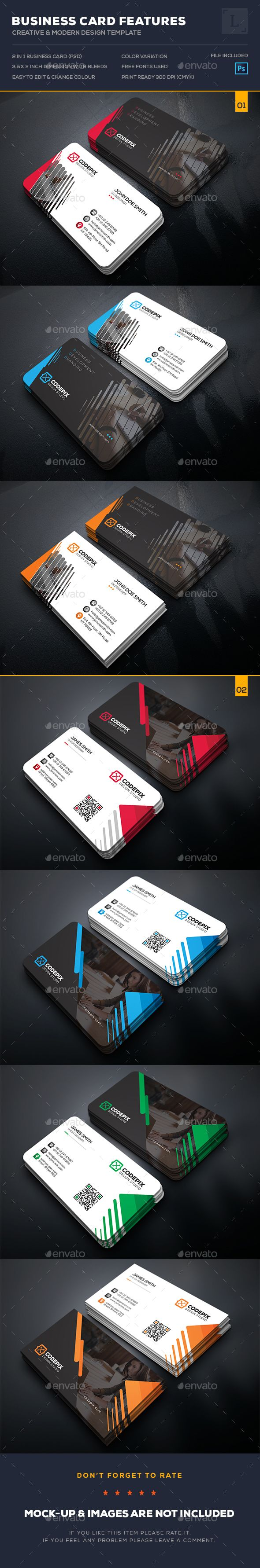 Business Card Bundle - Business Card Template PSD. Download here: http://graphicriver.net/item/business-card-bundle/16421731?s_rank=11&ref=yinkira