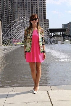 Sweet Pink Summer Dress X WORLD HAUS FASHION