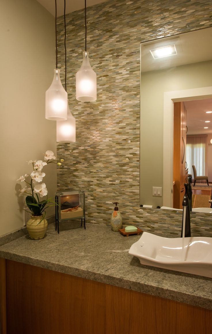 Bathroom. Designed by Archipelago Hawaii; Built by Mokulua High Performance Builders; and Photography by Augie Salbosa.