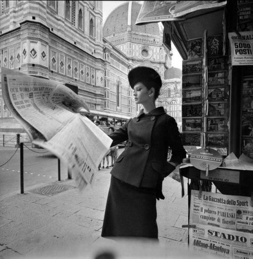 """""""Celia Hammond photographed by brian Duffy for British Vogue, 1962  """""""