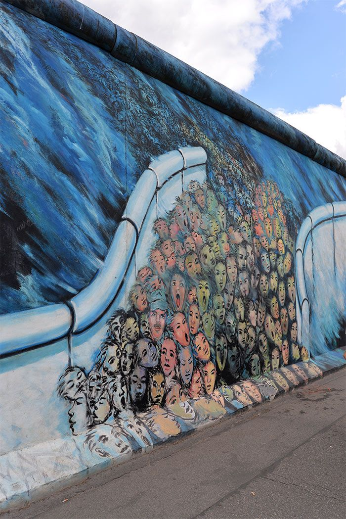 At East Side Gallery - * The Wall * Berlin