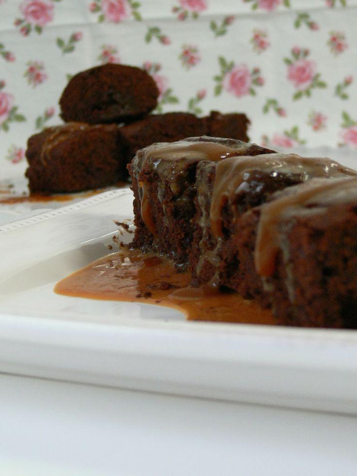Brownies Marmorizados com Doce de Leite