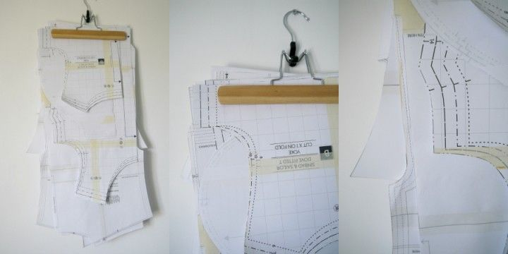 top tip - hanging paper and pdf patterns