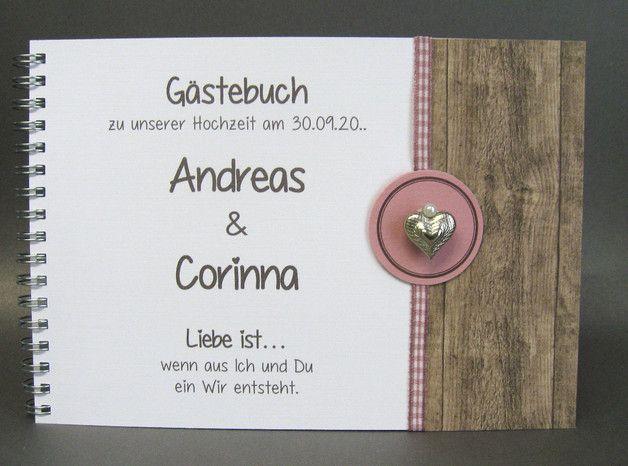 Pin Auf Hochzeit Gastebuch