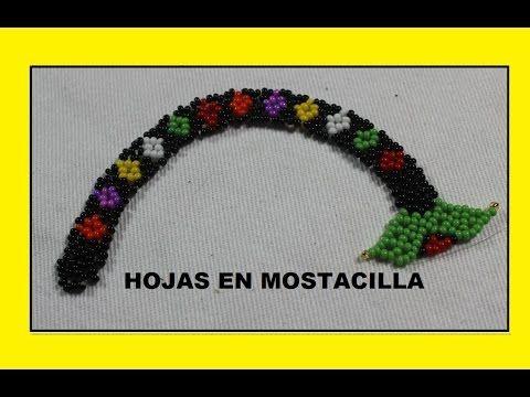 HOJAS EN MOSTACILLA - YouTube