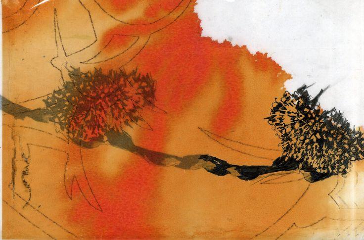 Sans titre  Impression numérique et graphite sur papier claque.  2008