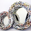 Recycled magazine mirror #reinspirationstore
