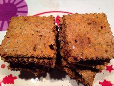 Patrícia is cooking.: Cracker de sementes e especiarias {vegan, integral, sem açúcar, com/sem glúten}