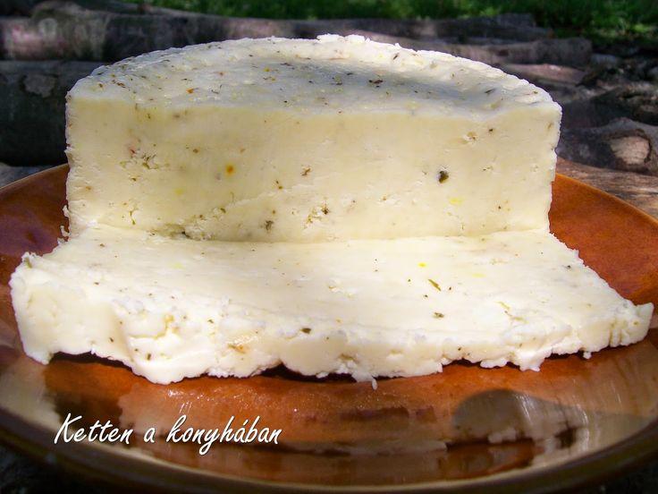 Ketten a konyhában: Házi sajt