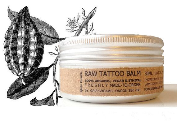 Tattoo Aftercare by Clare Shepherd on Etsy
