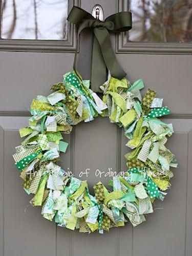 St. Patrick's Day Wreaths - Saint Patricks Day Crafts - Good Housekeeping