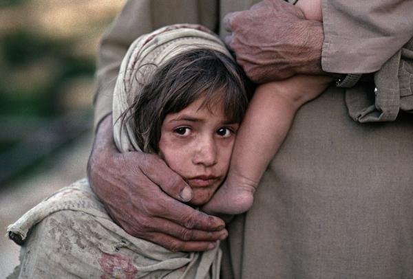 An Afghanistan girl.