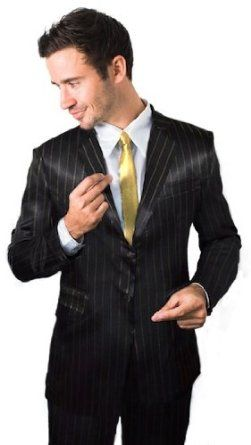 The Official How I Met Your Mother Black & Gold Pinstripe Suitjamas (M) Legendary Apparel. $11.19