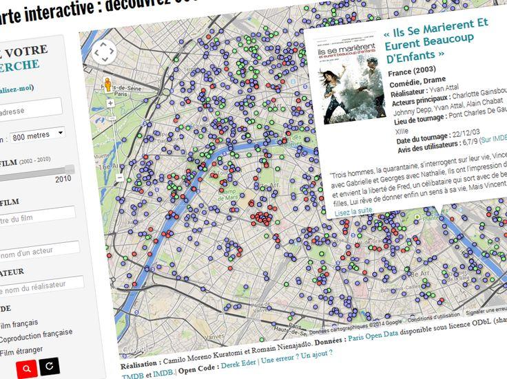 carte rue par rue retrouvez plus de 600 films tourn s paris search map cas and paris street. Black Bedroom Furniture Sets. Home Design Ideas