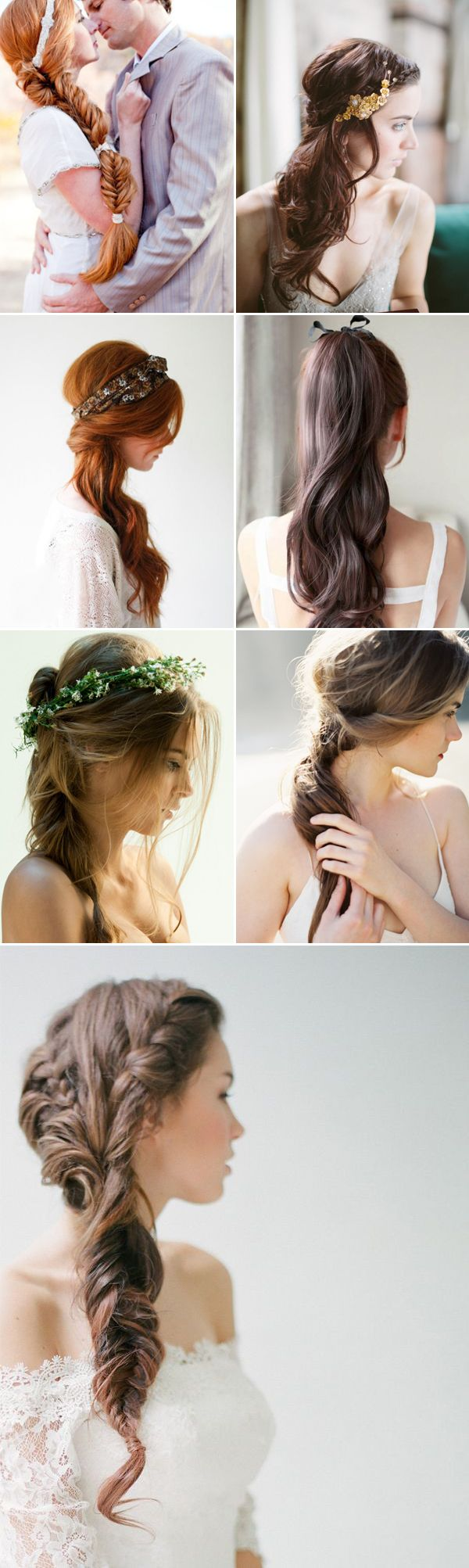 20 Effortlessly Stylish Bridal Hairstyles - Loosely Tied