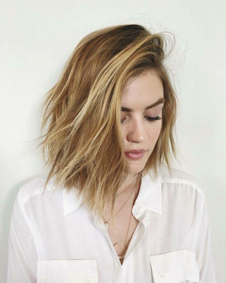 Lucy Hale Hair