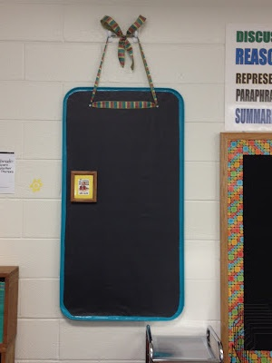 My homemade magnetic board