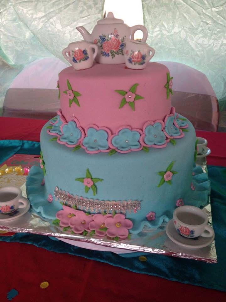 Tea Party themed cake!