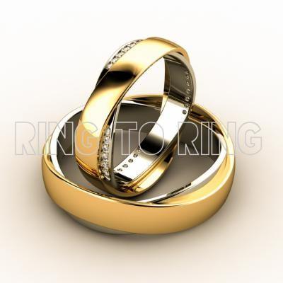 Купить свадебные кольца из золота в Москве | Ring to Ring ювелирная арт-студия