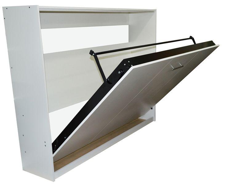 Cama plegable para colchon 2 plazas rebatible horizontal 002