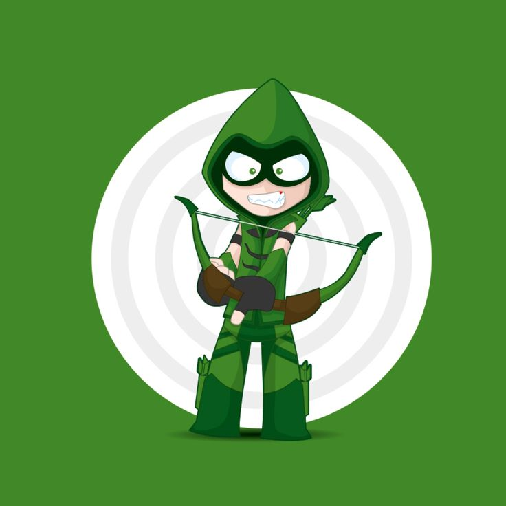 Green arrow DC Comics by kalhaaan on @DeviantArt