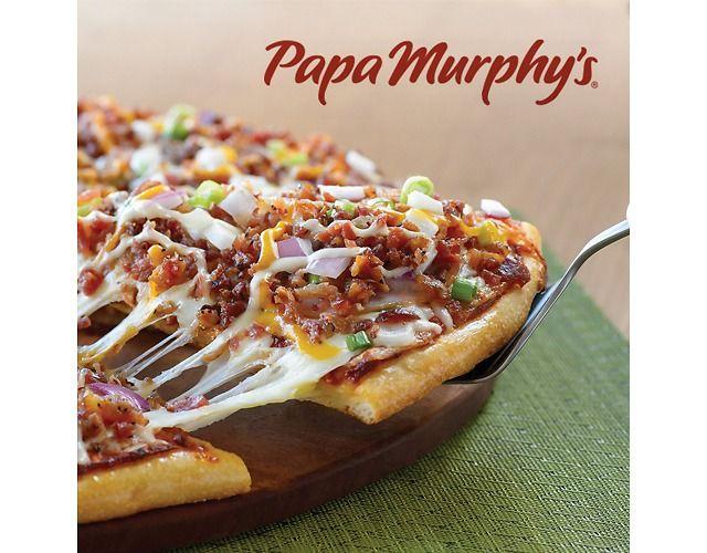 Papa Murphys: 50% Off Online Pizza Order (Today Only!) 50% off (papamurphys.com)