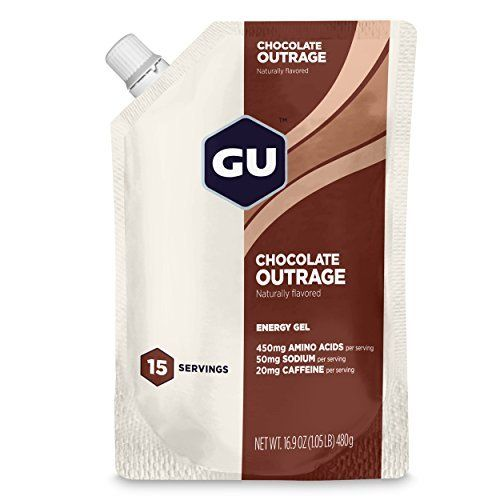 Product review for GU Energy Labs Original Sports Nutrition Energy Gel, Salted Caramel - GU Energy Gel is specifically formulated to energize your body during exercise. Using GU during your regular workouts will keep your mind alert and active, and your muscles going strong. GU gives the most concentrated form of immediate energy with no stomach bulk or distress, is quickly and...