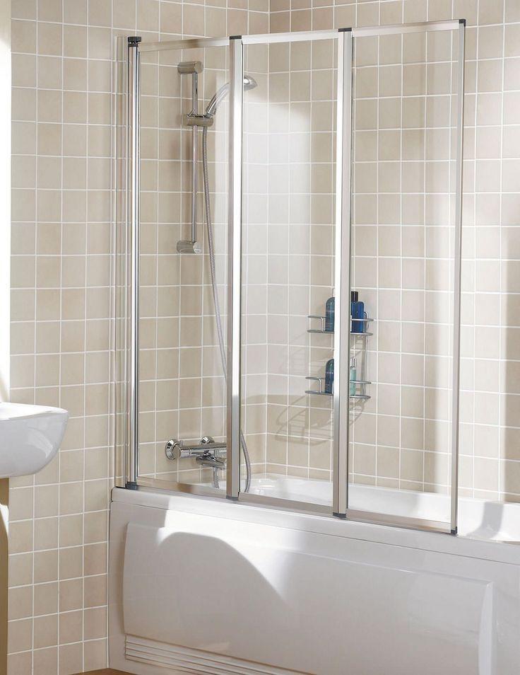Best 34 Folding Bath Shower Screens ideas on Pinterest | Bathroom ...