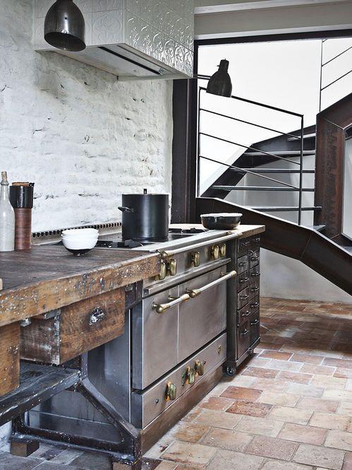 Cozinha Rustica  Fotógrafo: Karel Balas Fonte: bloodandchampagne